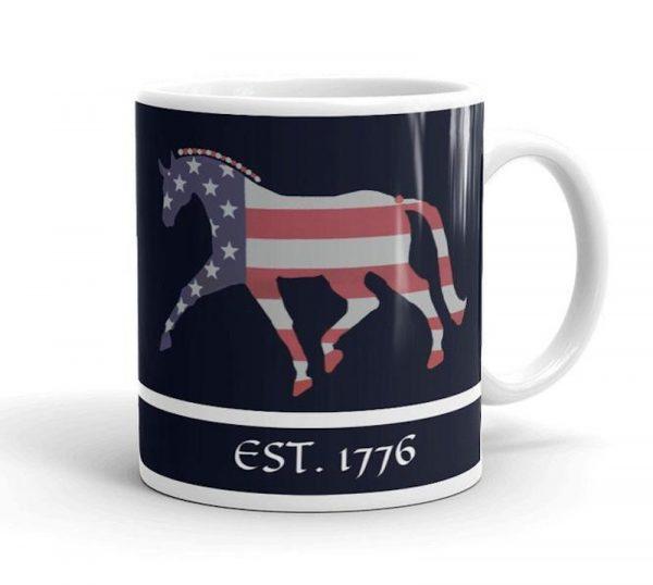 1776 american mug