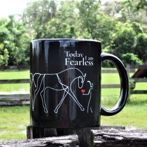 Black Coffee Mug for Equestrian