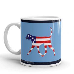 Hound mug Americana
