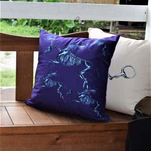 Skeleton Pegasus pillow