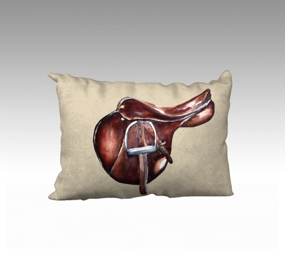saddle lumbar pillow