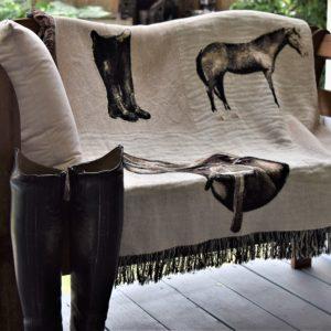 Equestrian Throw Blankets