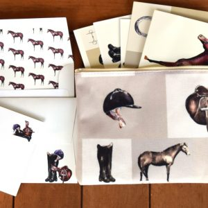 Equestrian Stationary, Stickers and Decals