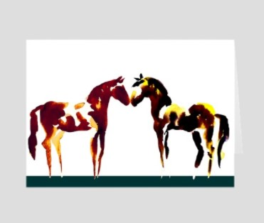 paint horse sticker decal