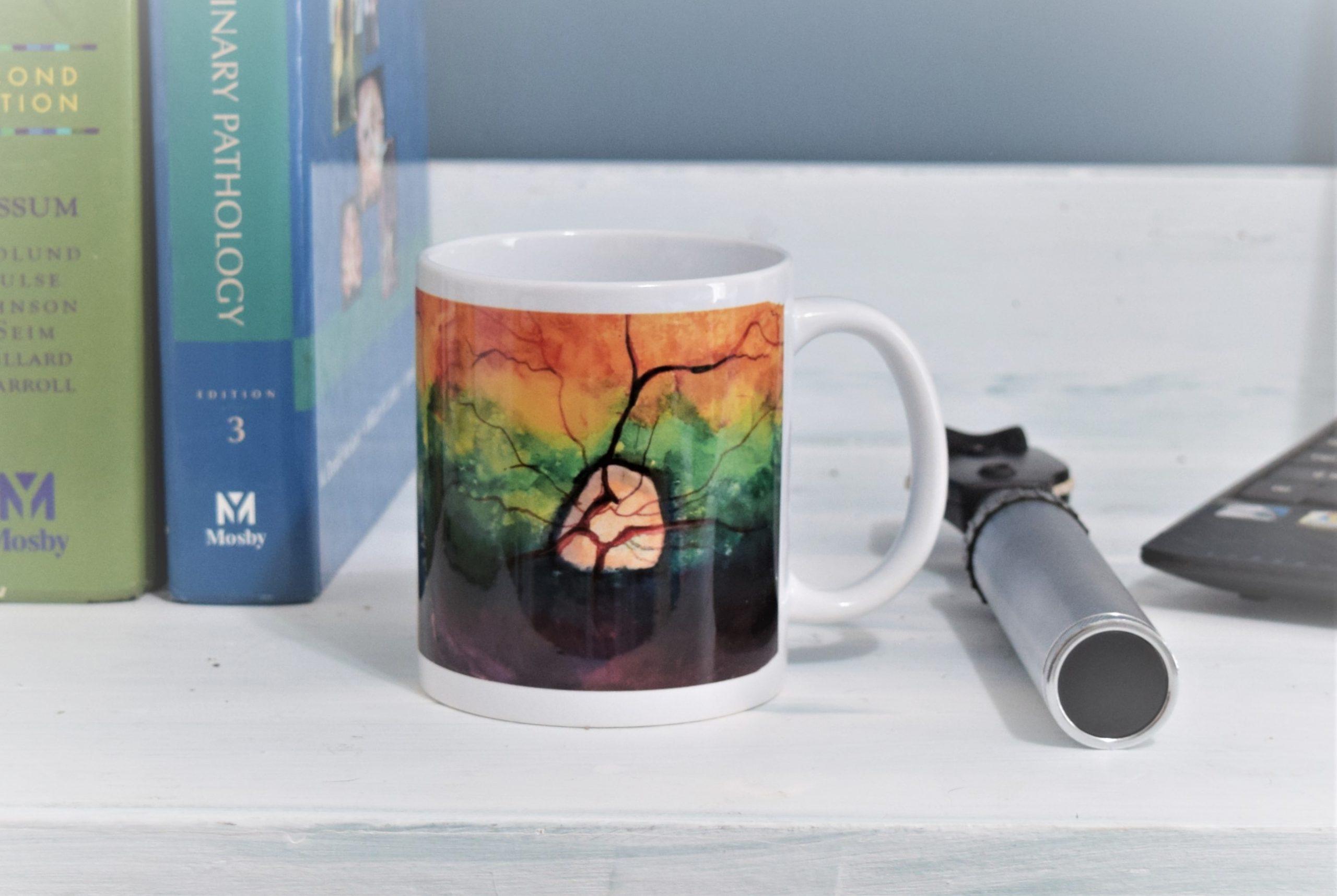 canine retina mug
