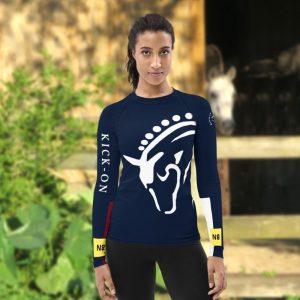 Custom Cross Country Jumping Competiton Shirt