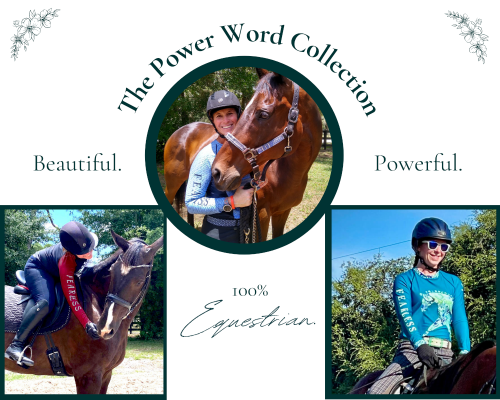 Brave, strong female equestrians